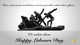 Wishing You A Happy Labours Day - Labor Day Wishes - Wishing  Workers - Animation Video By Magicbox