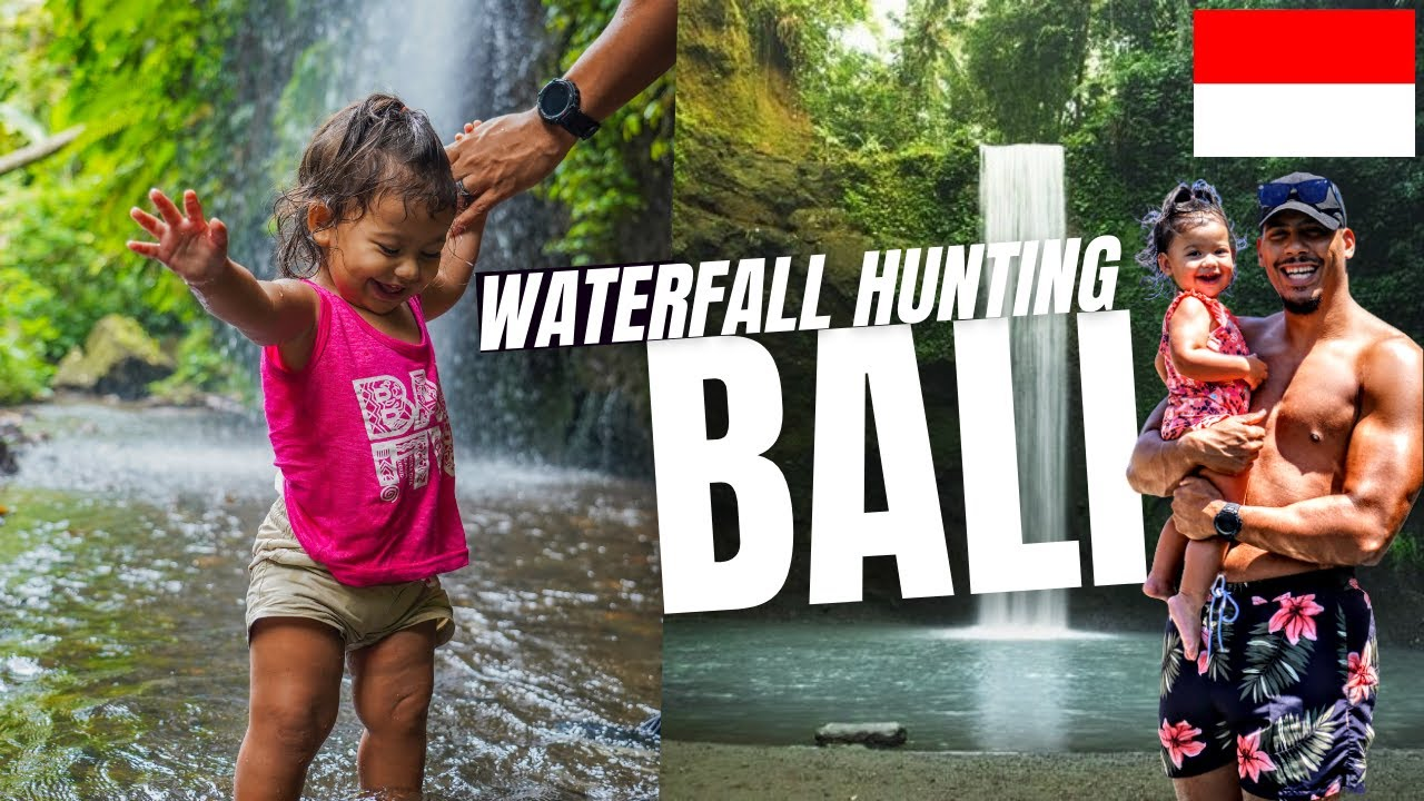 Waterfall Hunting UBUD BALI Indonesia Vlog 2021 ?? (Top 3 Must Do's)