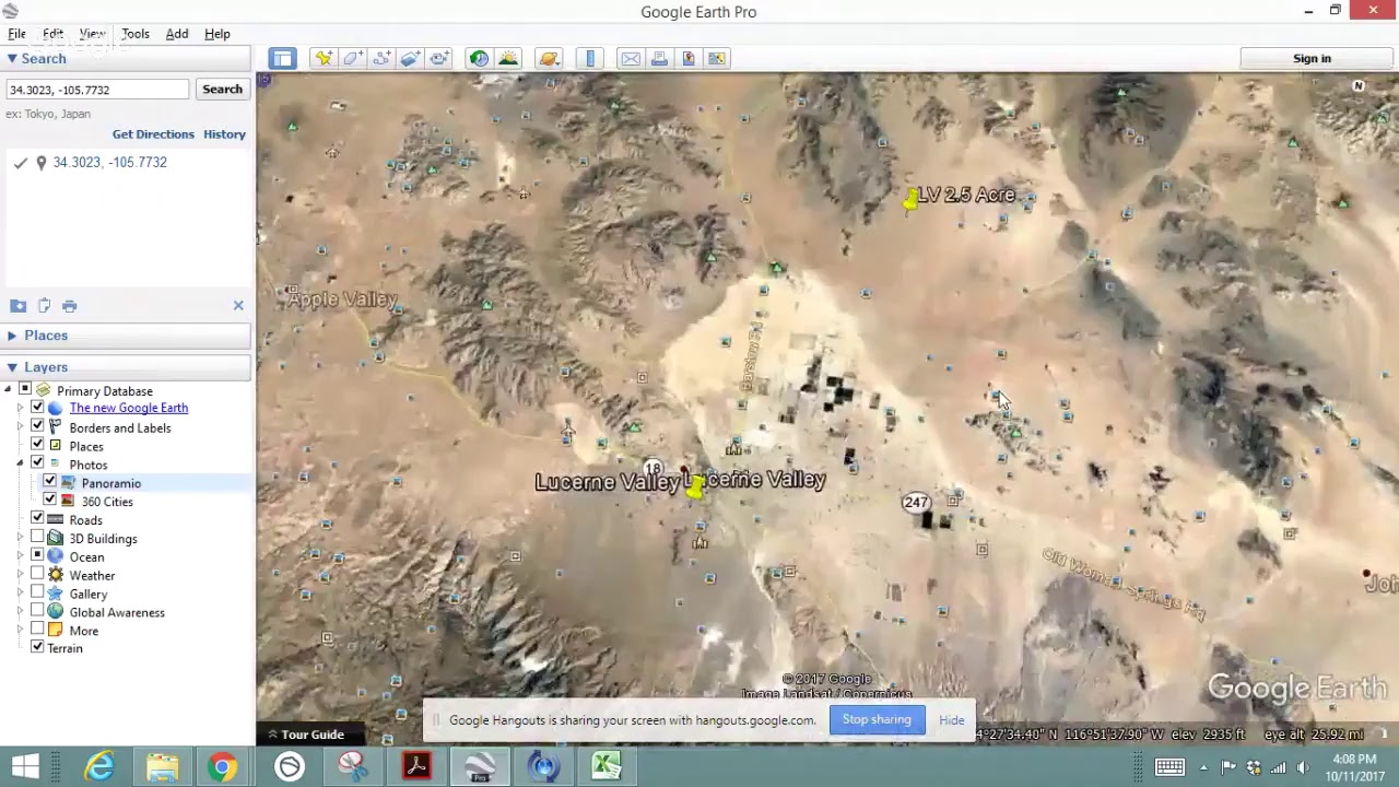 2.5 Acres Lucerne Valley, California Great Property Unbelievable Price $1,999