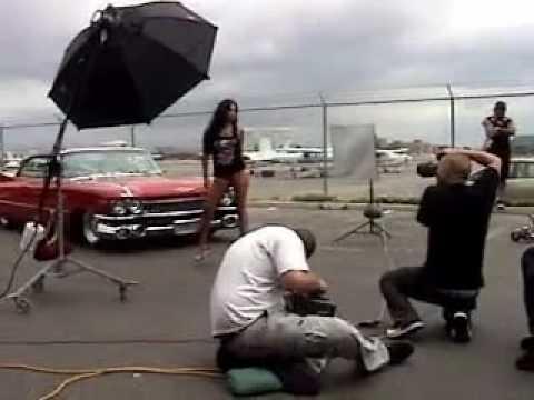 BRITTANYA  O'CAMPO PHOTO SHOOT WITH L-BOY & CHARLIE ROW