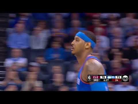 Carmelo Anthony highlights 24 points vs Cleveland 13 2 2018
