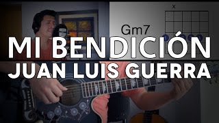 Mi Bendición Juan Luis Guerra Tutorial Cover - Guitarra [Mauro Martinez]