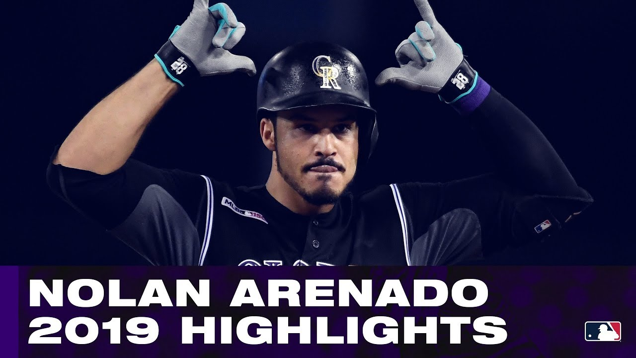 Nolan Arenado 2019 Highlights | Rockies 3B dominates in field and at plate