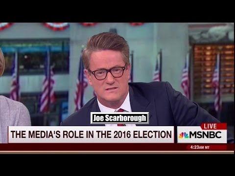 Morning Joe Calls Out WAPO & NYT For Cheerleading NOT Reporting