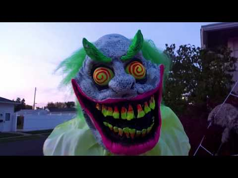 HALLOWEEN DECORATIONS 2016 DAYTIME Yard Haunt Display