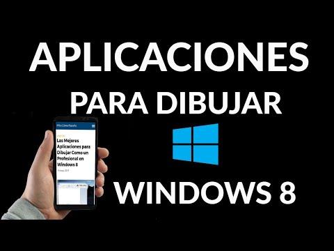 Las Mejores Aplicaciones para Dibujar en Windows 8