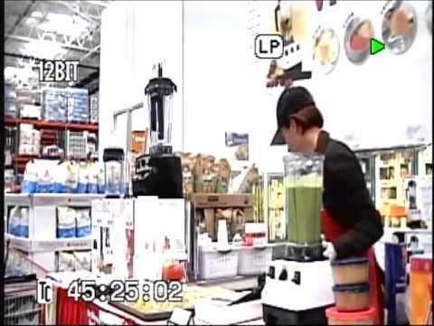 Vita Mix Lady Green Smoothie Demonstration Youtube