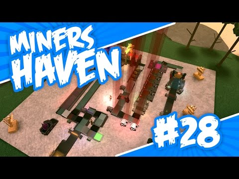 Miners Haven #28 - REVERSE CONVEYOR SETUP (Roblox Miners Haven)