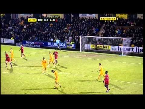 Torquay United 1 Aldershot Town 2 - Football Conference Season 2007/2008
