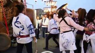 当日は松原神社(聖武天皇社)内で提灯祭りも行われ、向かいにある松原公...