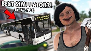Bus Driving Simulator 2019 Is A Perfect Game Without Any Flaws