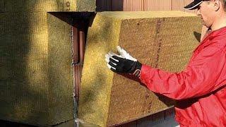 Verarbeitung Rockwool Putzträgerplatte Steinwolle Fassadendämmung