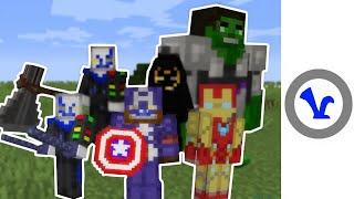 Avengers: Endgame - In Minecraft!