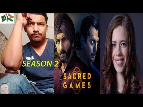 Sacred Games Season 2 | Official Trailer | Netflix Sail Ali Khan Reaction Mp3