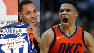 The Knicks need Russell Westbrook – Ryan Hollins | First Take