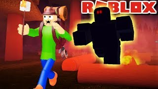 WILL CAMPING BALDI SAVE HIS MARSHMELLO FROM THE GHOST? | Roblox Camping: Summer Camp
