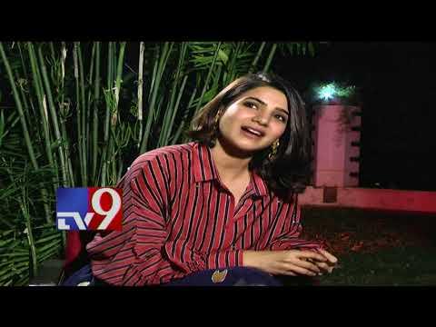 Download Youtube: Samantha Akkineni about Ram Charan || Naga Chaitanya || Rangasthalam Interview - TV9