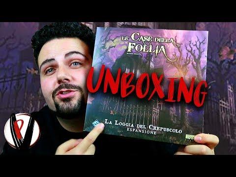 La Loggia del Crepuscolo (Unboxing)   Giochi da Tavolo