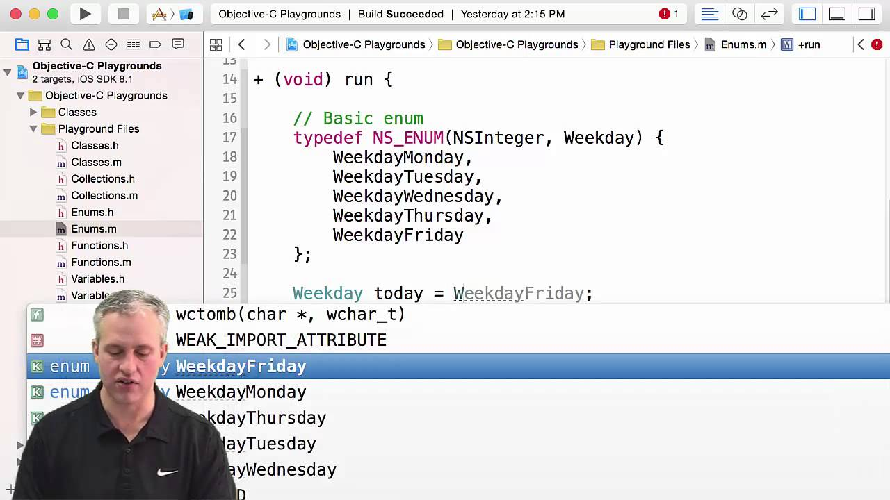 Enums in Objective-C