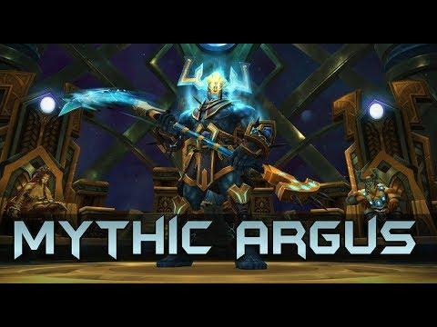 Mythic Argus Kill - Holy Paladin PoV [twitch.tv Highlight]