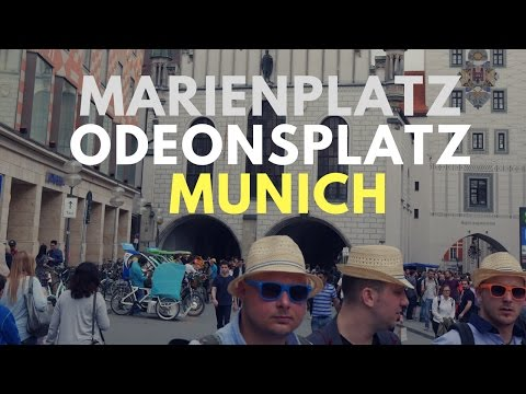 Marienplatz  - Odeonsplatz, Munich - Travel Germany