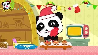 【聖誕節????】薑餅人和十個甜甜圈一起跳舞 | 兒童歌曲 | 幼兒音樂 | 童謠 | 寶寶巴士 | 奇奇 | 妙妙