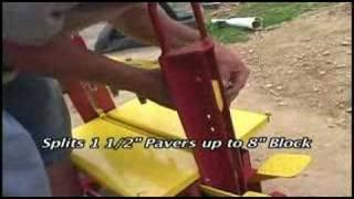 Kracker Brick Paver Block Splitter