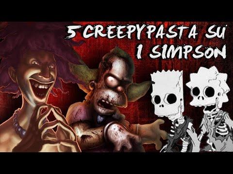 5 Creepypasta che non sai sui SIMPSON