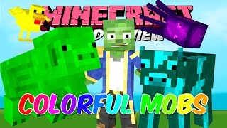 COLORFUL MOBS MOD 1.7.10   Encuentra a los mobs