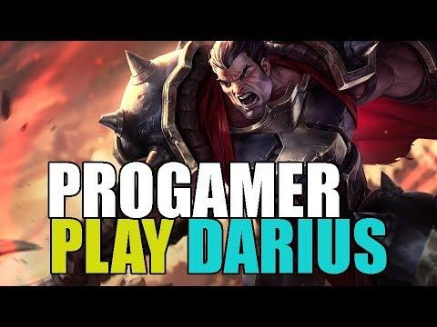 Progamer Play Darius Top Pro Replays