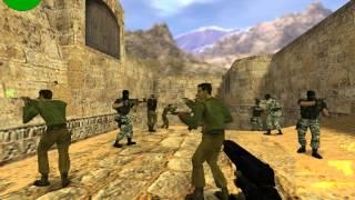 Counter-Strike 1.6 Играем с ботами № 1