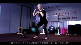 PW PREMIUM - Trening wyszczuplający nogi z kettlebell