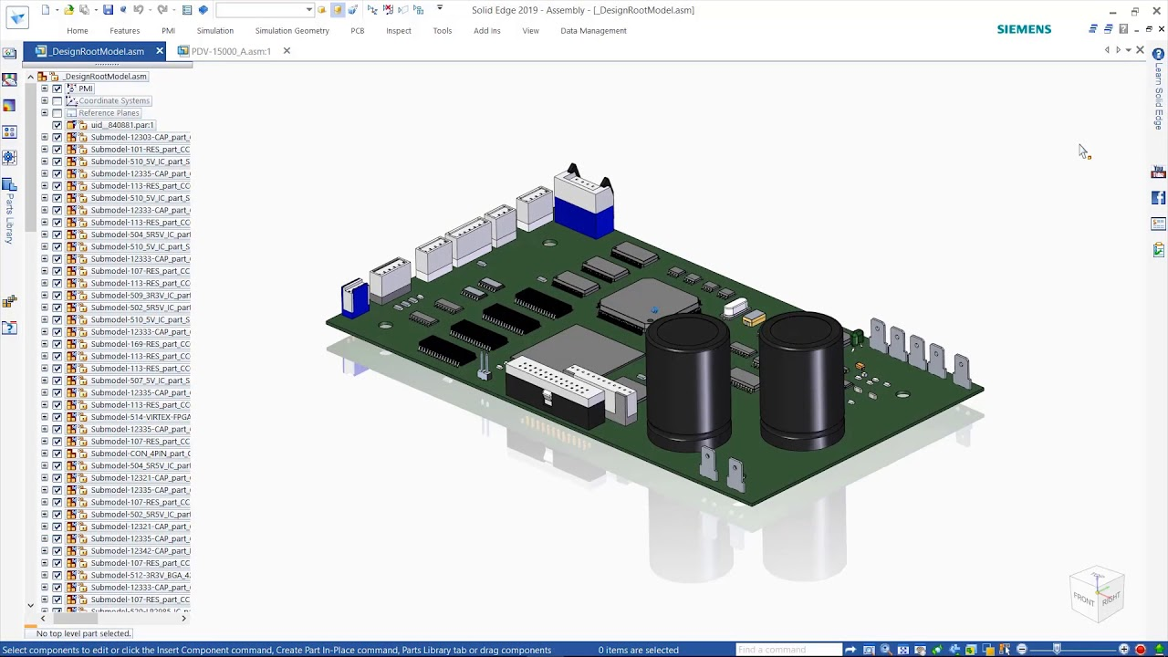 Pcb Design And Collaboration In Solid Edge 2019 Youtube For Including Schematic Capture Board Layout Autorouter