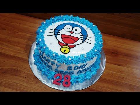 Kue Ulang Tahun Doraemon Cake Youtube