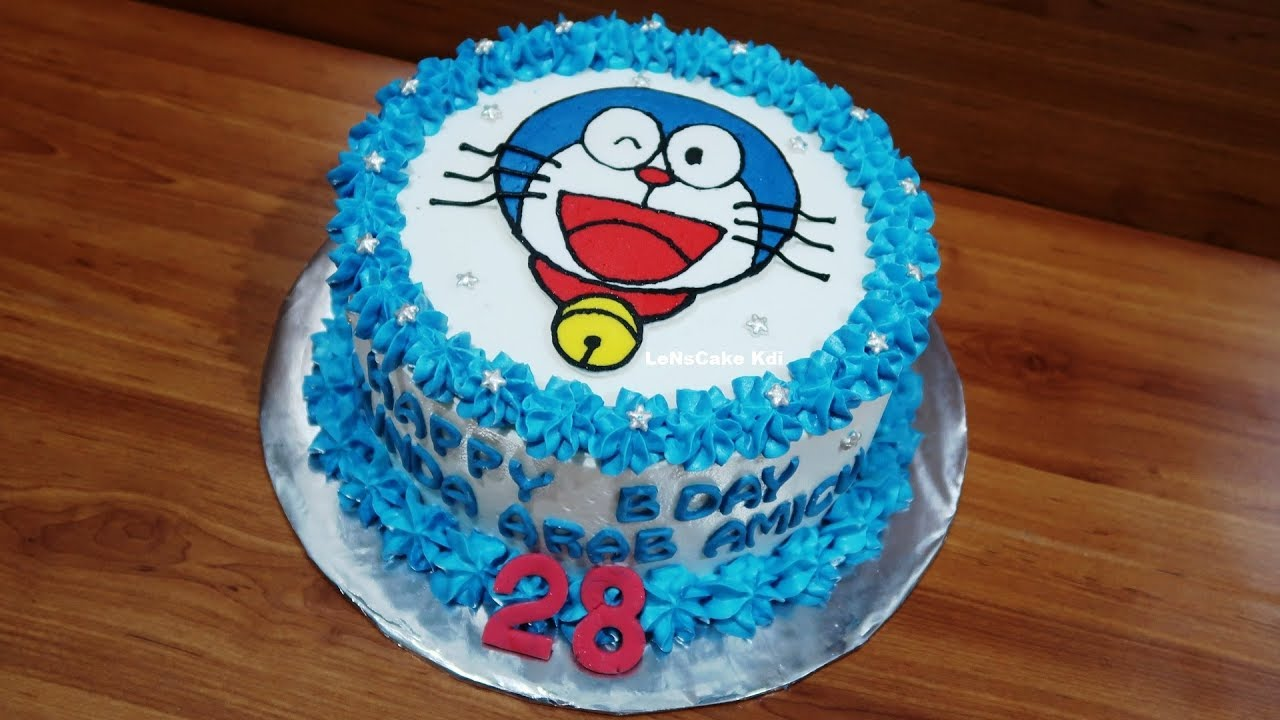Birthday Cake Doraemon