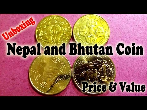 Nepal and Bhutan Coin Unboxing, Price and Value