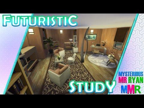 MMR   The Sims 4 Room Build   Futuristic Study