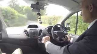 Ford Transit Custom Sport Test Drive Review