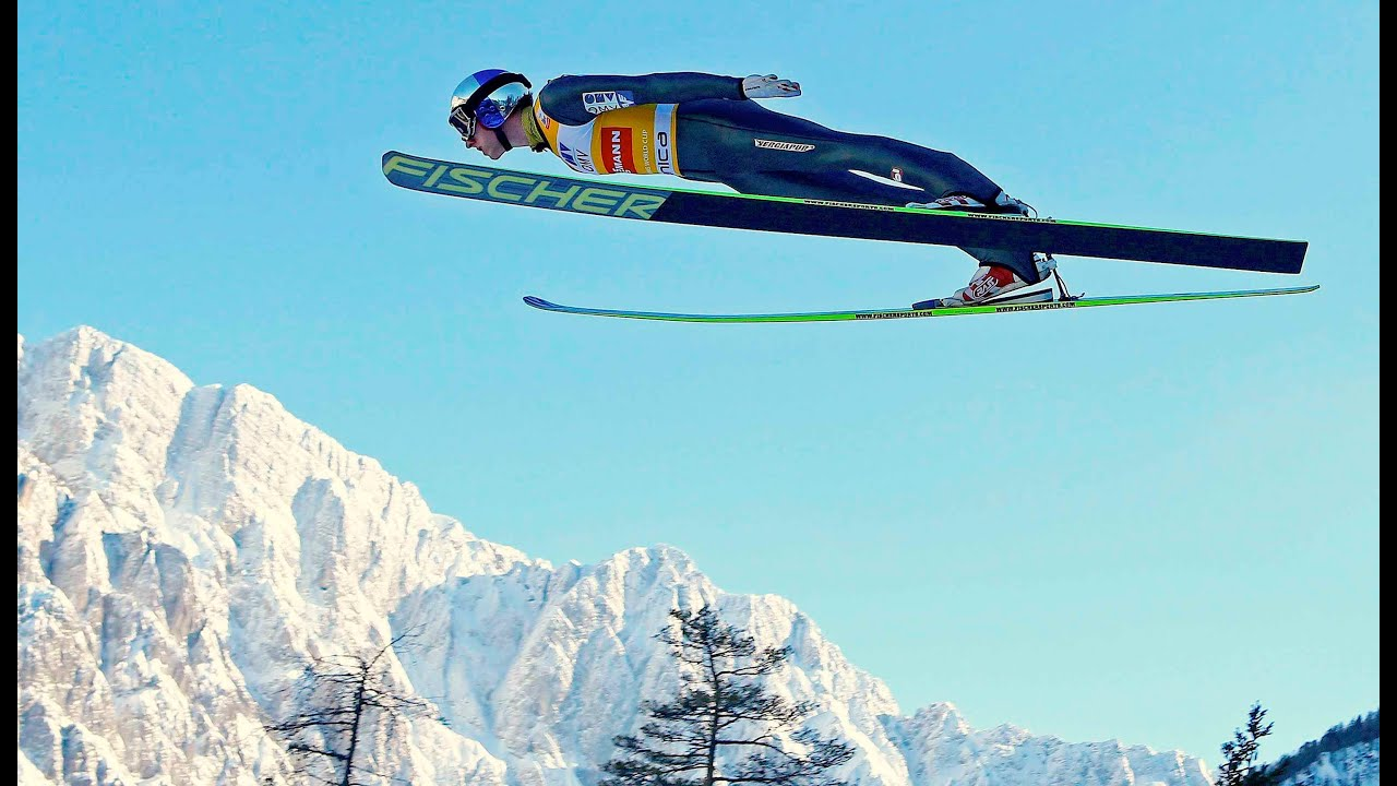 Image result for ski flying pictures