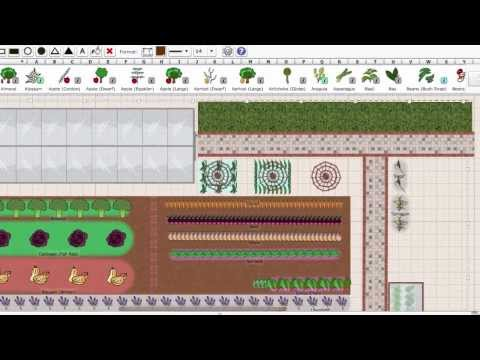 Using the Garden Planner to Plan a Vegetable Garden