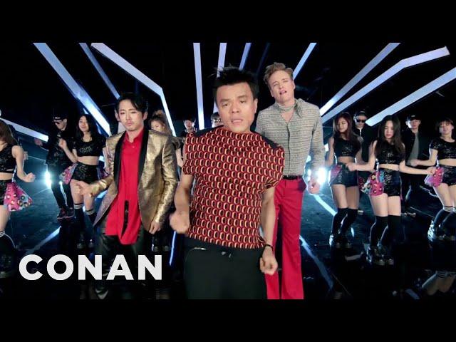 """Fire"" feat. Conan O`Brien & Steven Yeun & Jimin Park"