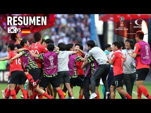 ¡Alemania queda eliminada!   Corea del Sur 2-0 Alemania  Mundial Rusia 2018