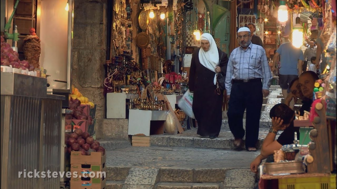 Jerusalem, Israel: Jewish Quarter and New City