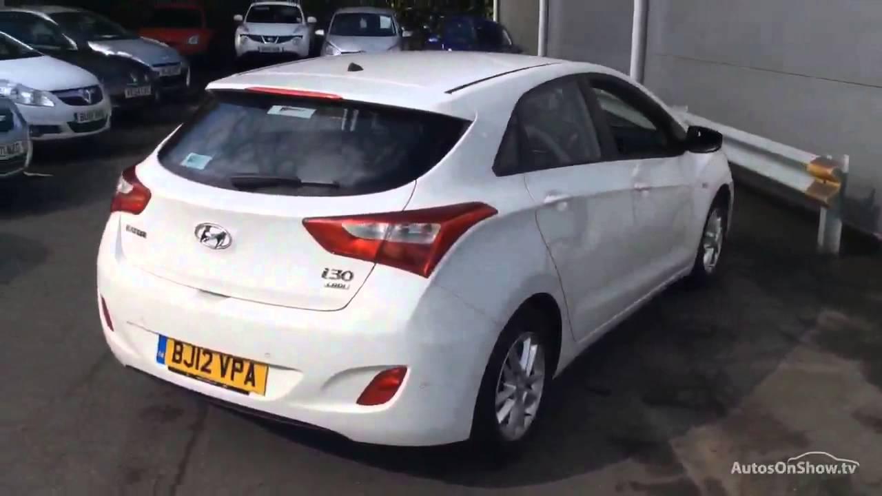 Hyundai i30 active crdi white 2012 youtube for Garage n4 auto duppigheim
