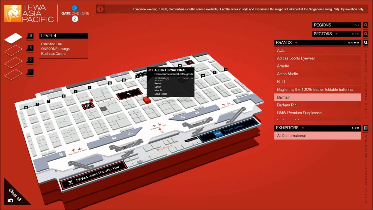 3D Interactive Floor Plan   YouTube Awesome Design