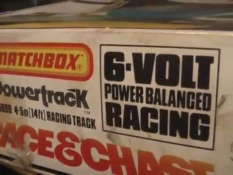 Matchbox Powertrack Slot Car – Race and Chase – the Classic Set