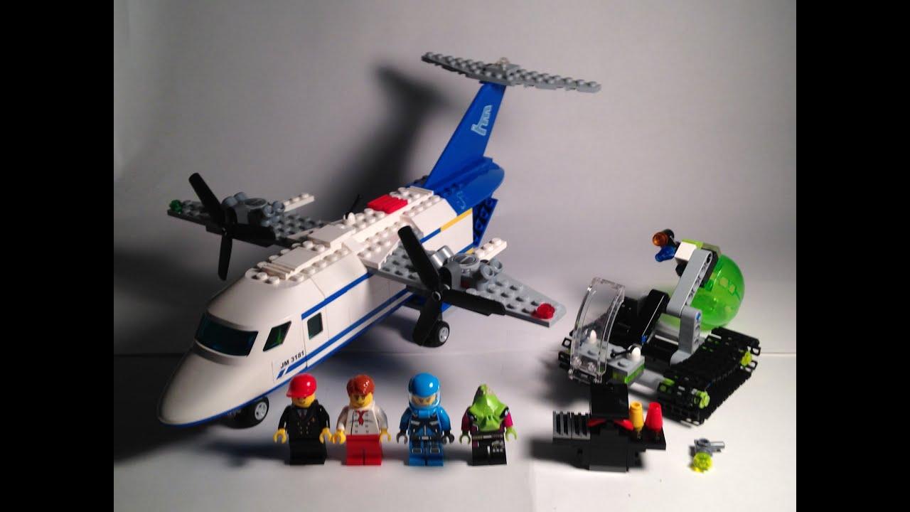 Custom lego review lego adu resistance plane getaway for How to build an adu