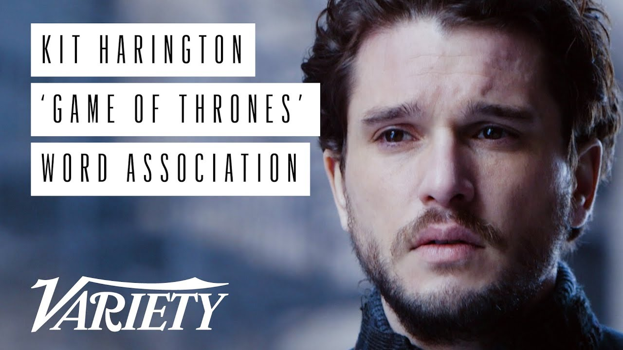 Kit Harington 'Game of Thrones' Word Association