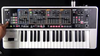 Roland Gaia SH-01 - How to Assign Parameters to the D Beam