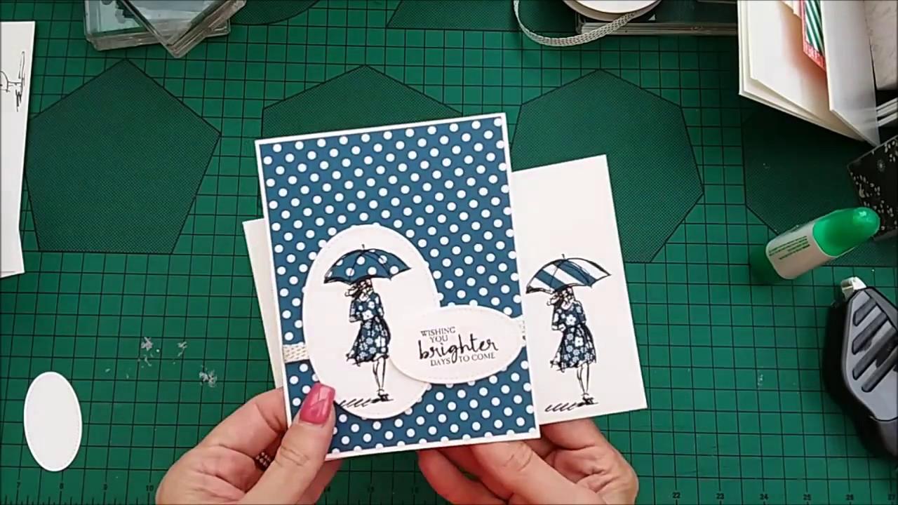 quick  easy card  matching envelope using stampin'up